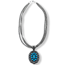 Load image into Gallery viewer, Navajo High Grade Sleeping Beauty Necklace -M. Bennett