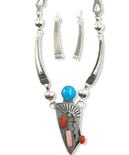 Load image into Gallery viewer, Navajo Jack Tom Multi-Color Necklace