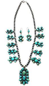 Navajo Kingman & Royston Turquoise Necklace Set