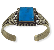 Load image into Gallery viewer, SOLD Kingman Turquoise Brace.