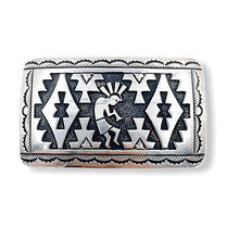 Load image into Gallery viewer, Navajo Kokopelli Belt Buckle