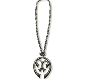Navajo Pawn Naja Necklace