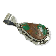 Load image into Gallery viewer, Navajo Royston Turquoise Pendant