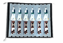 Load image into Gallery viewer, Navajo Yei Be Chei Ceremony Rug