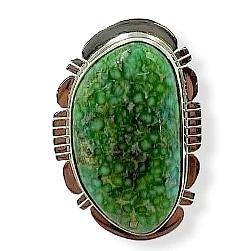 SOLD Navajo Sonoran Turquosie Ring -Sanchez
