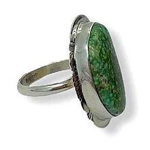 Load image into Gallery viewer, SOLD Navajo Sonoran Turquosie Ring -Sanchez