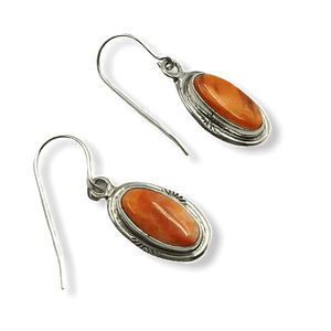 Navajo Spiny Oyster Earrings