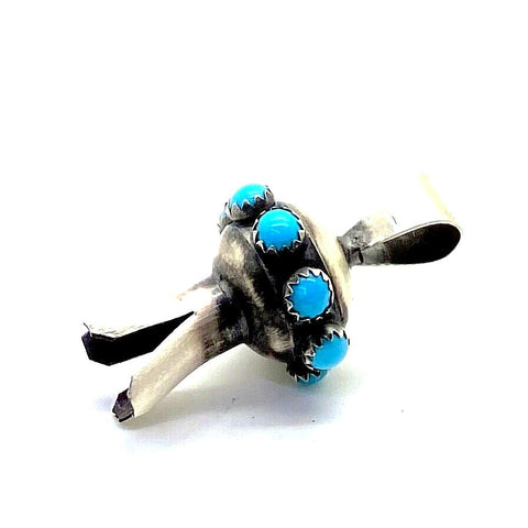 Image of Navajo Turquoise  Blossom Pendant