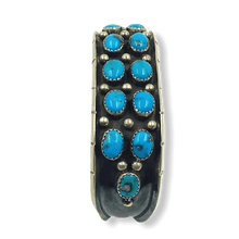 Load image into Gallery viewer, Navajo Turquoise Pawn Bracelet W/ Drops