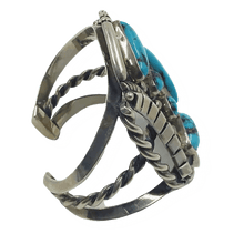 Load image into Gallery viewer, Navajo Vintage Turquoise Bracelet