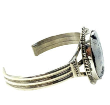 Load image into Gallery viewer, Navajo White Buffalo Bracelet J. Nelson