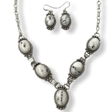 Load image into Gallery viewer, Navajo White Buffalo Necklace Set