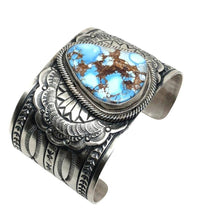 Load image into Gallery viewer, SOLD Wide Golden Hills Turquoise Brace.