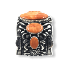 Load image into Gallery viewer, Navajo Wide Spiny Oyster Bracelet