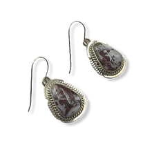 Load image into Gallery viewer, Navajo Wild Horse Hook Earrings