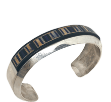 Load image into Gallery viewer, Sold  Inlay Brace. W/ Jet, Lapis, Spiny Oyster