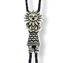 Load image into Gallery viewer, Pawn Navajo Kachina Bolo Tie