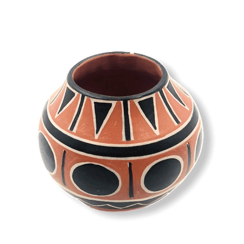 Image of Santo Domingo Ram Pot By R. Tenorio