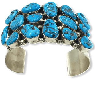 Sleeping Beauty Turquoise Multi Stone Bracelet