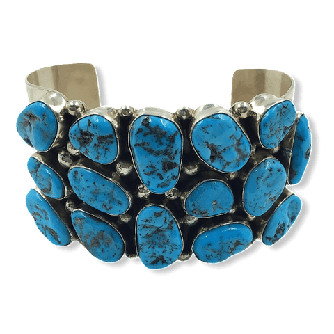 Image of Sleeping Beauty Turquoise Multi Stone Bracelet