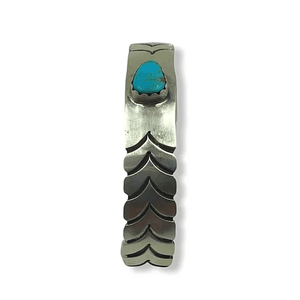 SOLD Turquoise Feather Brace