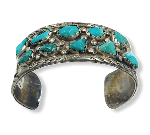 SOLD Turquoise Nugget  Brace.