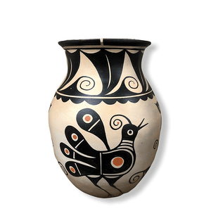 Thomas Tenorio Bird Vase Santo Domingo