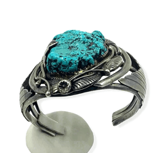 Load image into Gallery viewer, Turquoise Nugget Navajo Pawn Bracelet