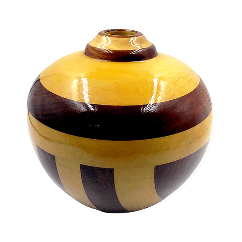 Image of Two Toned Wood Turning By G. Austin