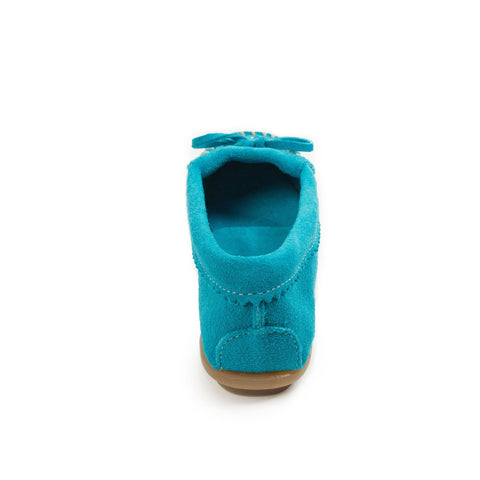Image of Women's Beaded Turquoise Moccasins 401J