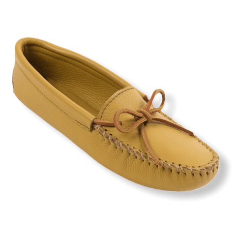 Women's Double Deerskin Softsole Moccasins 216