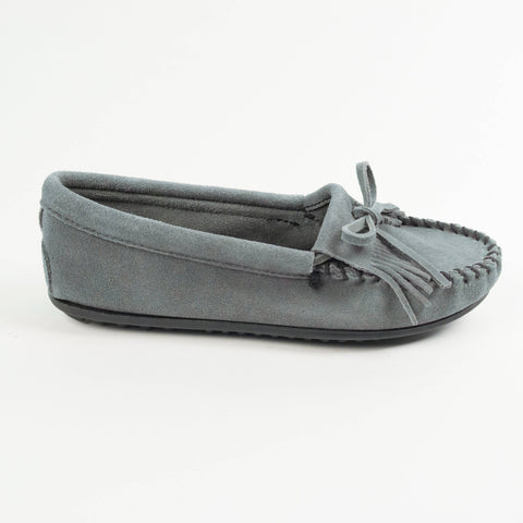 Image of Women's Kilty Hardsole Moccasins Storm Blue 409
