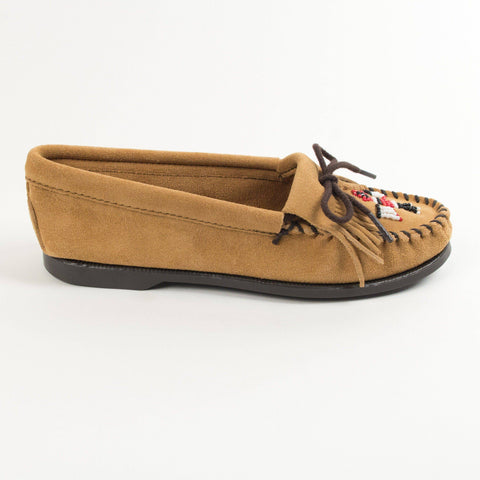 Image of Women's Thunderbird Boat Beaded Moccasins 177