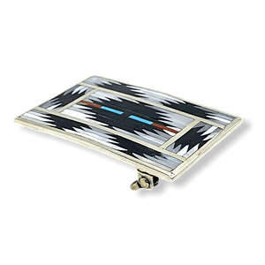 Zuni Traditional Inaly Belt Buckle