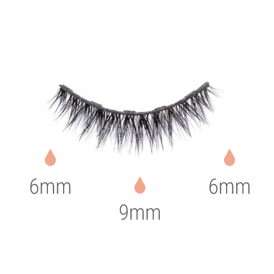 SHORTIE | Vegan Magnetic Eyelashes
