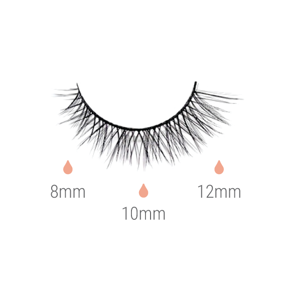 SWEET JUNGLE | Vegan Magnetic Eyelashes