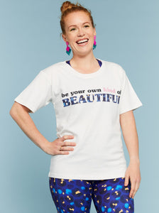Be Your Own Kind of Beautiful Positivi-tees - Mama Movement