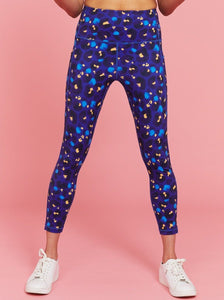 Midnight Leopard Everyday Legging - Mama Movement