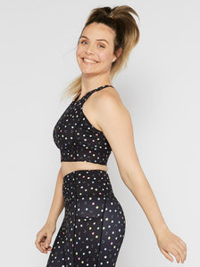 Polka Sporty Be Bold Long-line Crop - Mama Movement