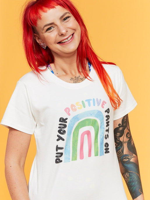 Rainbow Positivi-tees - Mama Movement