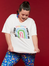 Load image into Gallery viewer, Rainbow Positivi-tees - Mama Movement