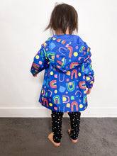 Load image into Gallery viewer, Rainbow Warrior Spray Jackets - Kids (PREORDER) - Mama Movement