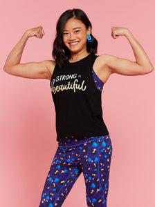 Strong Is Beautiful Muscle Tank - Mama Movement