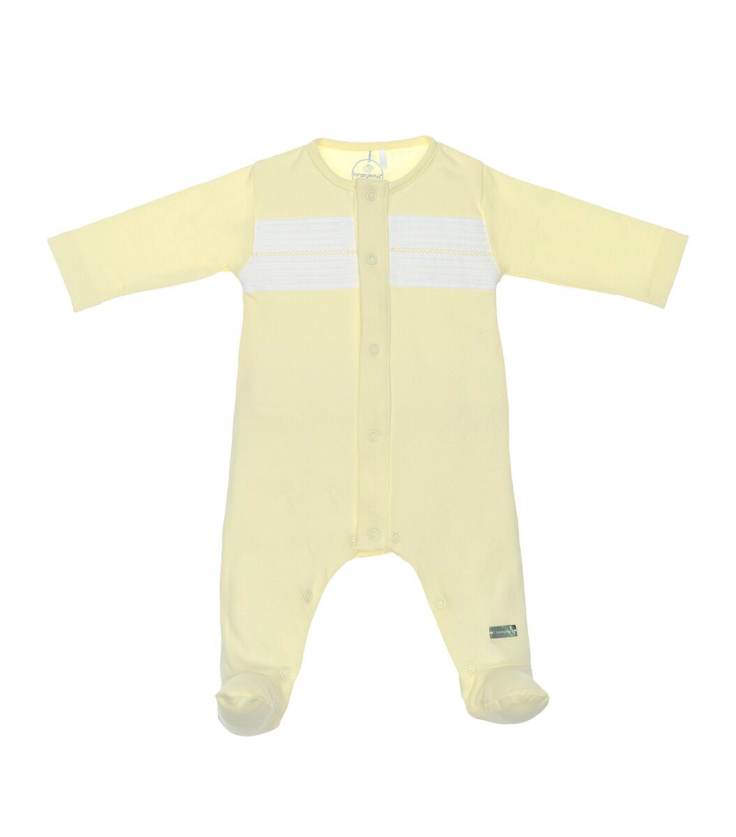 Laranjinha #31 Babygrow *Available in Baby Pink / Blue*