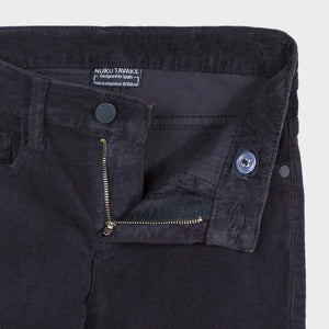 Basic slim fit cord trousers