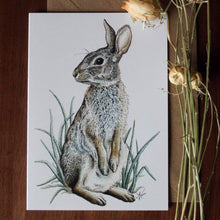 Load image into Gallery viewer, 'Rabbit' card