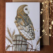 Load image into Gallery viewer, 'Barn Owl' card