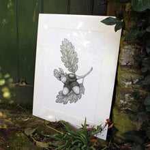 Load image into Gallery viewer, 'Acorns' Giclée print