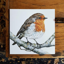 Load image into Gallery viewer, 'Robin' card