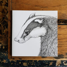 Load image into Gallery viewer, 'Badger' card